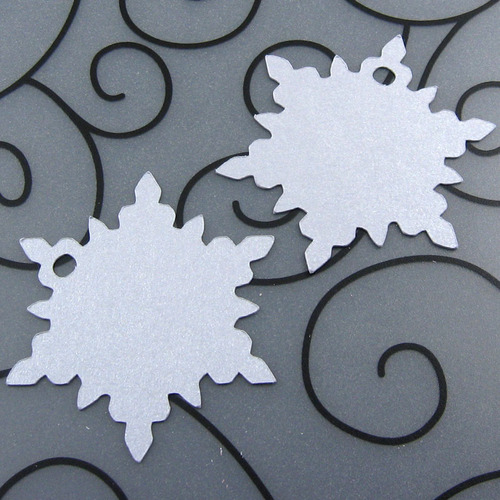 Snowflake Favor Tag