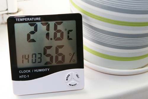 Гидрометр - измеритель влажности воздуха