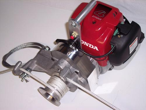 Simpson Capstan Rope Winch SP-CW Honda 4 Stroke OHC Engine