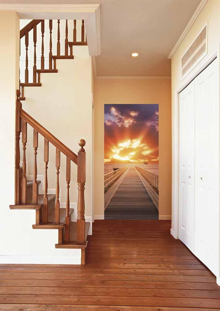 Фотообои в коридор