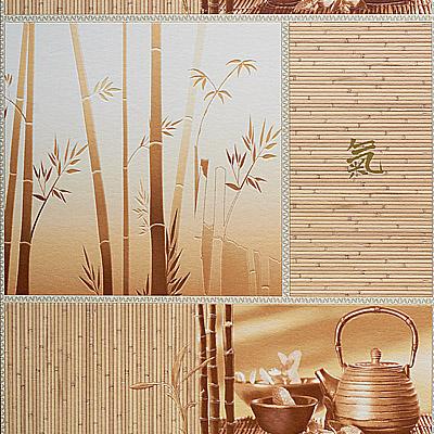 Бамбук моющиеся обои для кухни