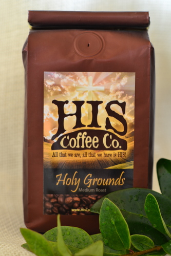 HOLY GROUNDS (Medium Roast - Ground) 12 oz. Bag