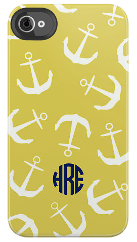 Small Anchor iPhone Case