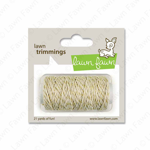 Gold Sparkle Single Twine