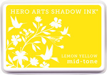 Lemon Yellow Shadow Ink