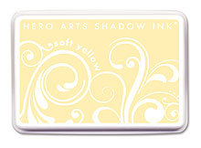 Soft Yellow Shadow Ink