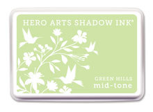 Green Hills Shadow Ink