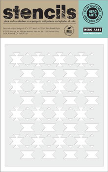 Triangle Pattern Stencil