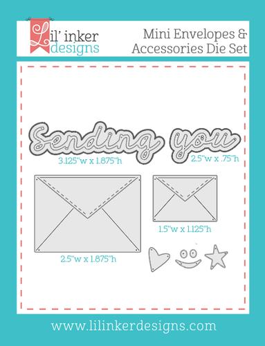 Mini Envelopes Dies & Accessories