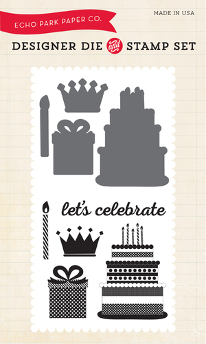 Birthday Celebration Stamp & Die Set