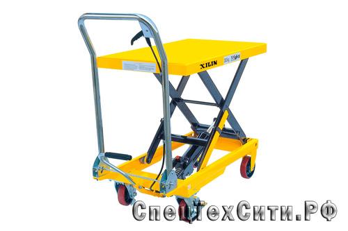 Гидравлический подъёмный стол XILIN SP150 (г/п 150 кг, в/п 740 мм)