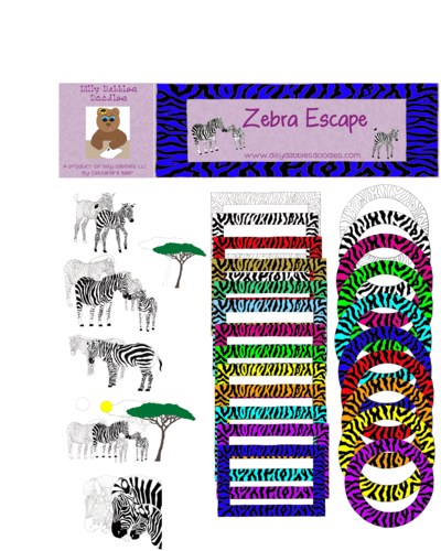 Zebra Digital Graphics, Clip Art