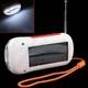 Зарядное устройство от солнечных батарей HRD-23411 (с FM-радио, светодиодным фонариком, телефонным зарядным...