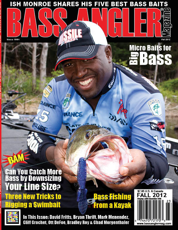 Bass Angler Magazine Fall 2012 Cover