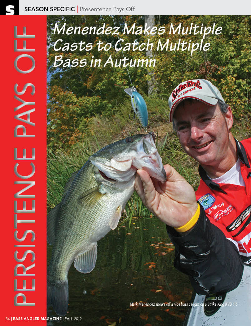 Sample Article from the Fall issue of Bass Angler Magaizne