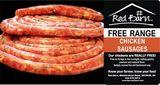 Chicken Sausage FREE Range - Roasted Flavour 500g