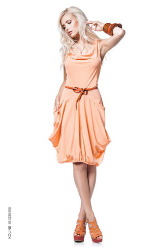 Maloka Wild Apricot Dress