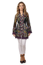 Savage Culture Lounge In Love Arabesque Jacket Alicia
