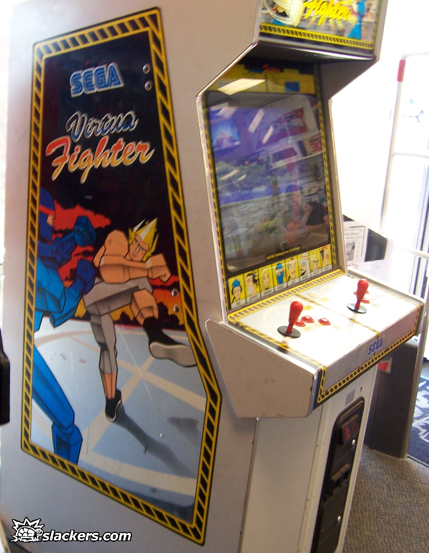 virtua fighter arcade machine