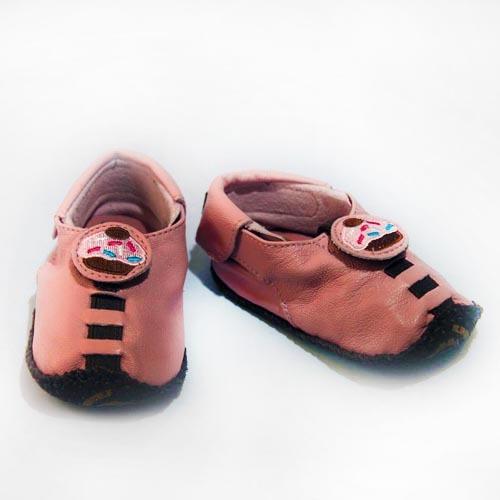 Soft Pink Cupcake Mocassin - SKU 818873016000