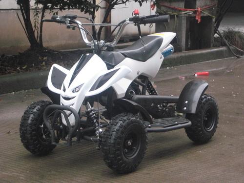 50CC MINI MOTO QUAD BIKE KIDS 2 STROKE PETROL ATV QUADARD ...