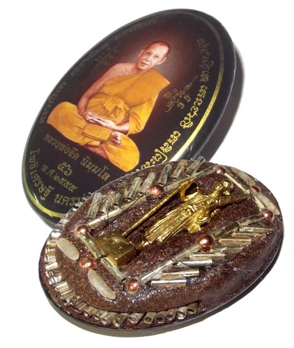 Thai Buddhist Amulets Lockets by LP Jerd