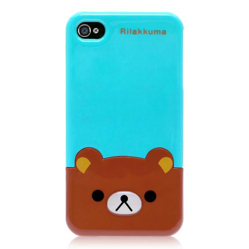 Кейс Медведь Rilakkuma для iPhone 4 & iPhone 4S