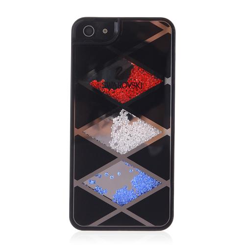 Кейс с цветными стразами Swarovski для iPhone 5