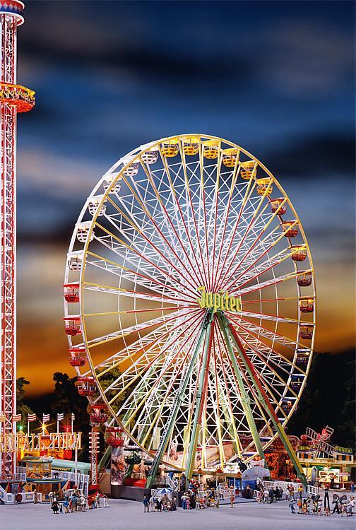 Faller 140470 Jupiter Ferris Wheel at Night