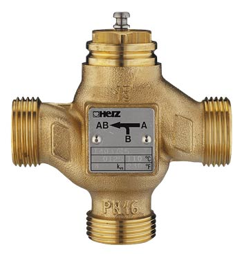 Клапан трехходовой Herz 4037