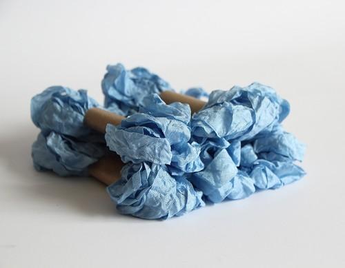 """Шебби лента """"Baby Blue"""""""