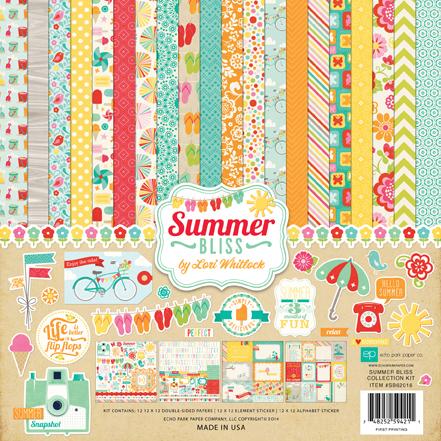 Набор бумаги 30x30 SUMMER BLISS
