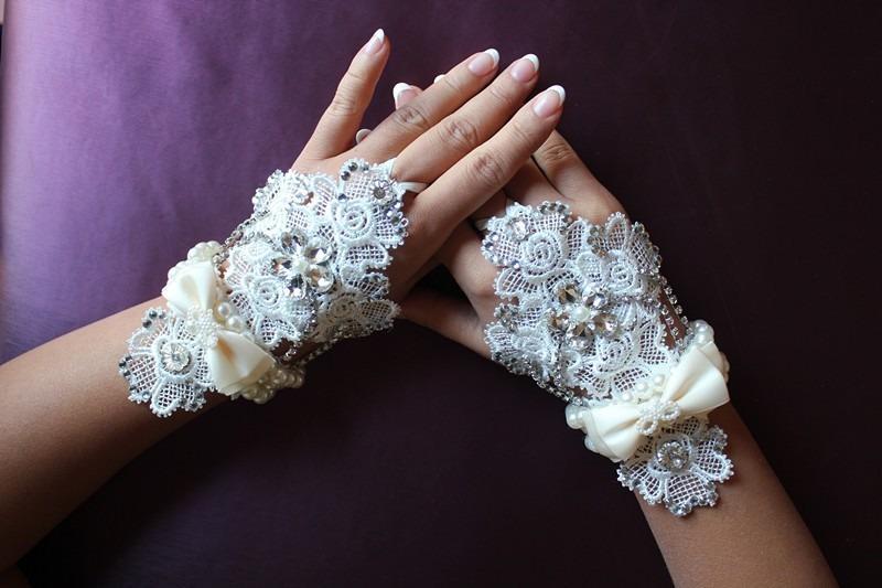 Митенки своими руками свадебные 94