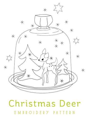Rhinestone Beagle Free Christmas Embroidery Patterns