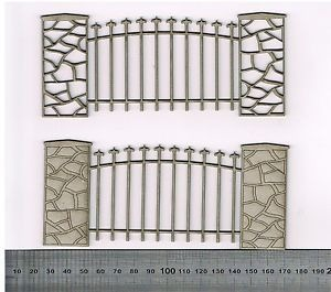 Cobblestone Fence 2 Pack