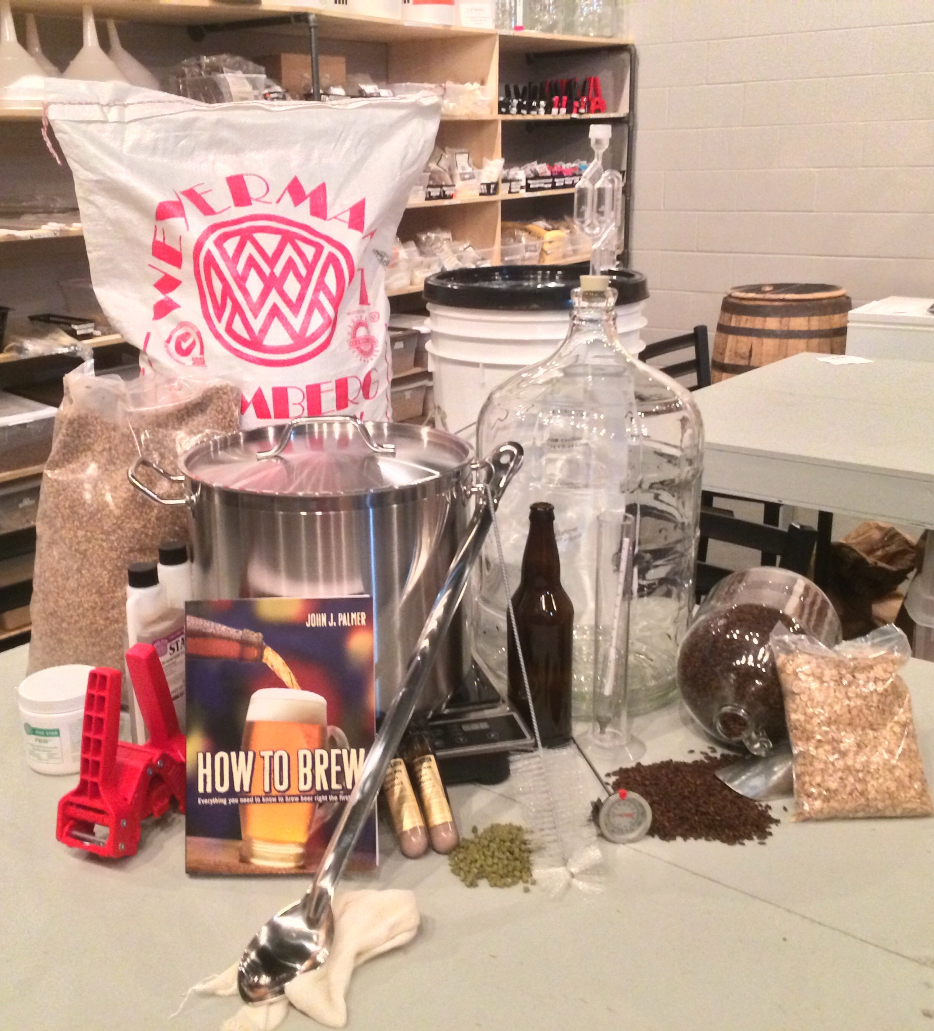 Home Brewing 101 Monday May 18th at 6pm