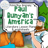Paul Bunyan's America (Picture Book Geography -- Cross-curricular Lesson Plan)