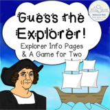 Guess the Explorer! Information Cards and Two-Player Game