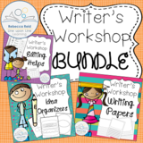 Writer's Workshop BUNDLE: Papers, Organizers, and Editing Hellps