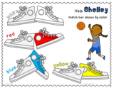 Color Matching Shoes Game FREEBIE