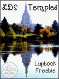 LDS Temples Lapbook