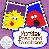 Monster Postcard Templates
