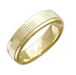Кольцо обручальное Вместе Навсегда, широкий торец h=5.5 mm