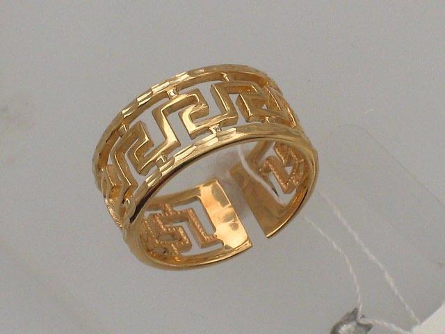 купить золотое кольцо без камня