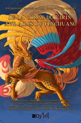 L'Asie regorge de créatures mystérieuses, tantôt espiè-gles, tantôt protectrices, souvent dangereuses. Serez-vous prêt à vous confronter aux tengu japonais ? Asuivre une gumiho dans les rues de Séoul ? Vous laisse-rez-vous porter par les paroles de la kinnari indienne ?Aux côtés de nos dix-sept auteurs, partez à la décou-verte du continent asiatique et de toute la diversité deson bestiaire fantastique.