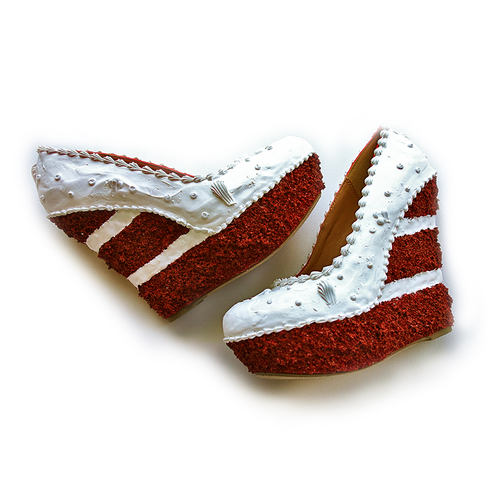 Red Velvet Cake Wedges