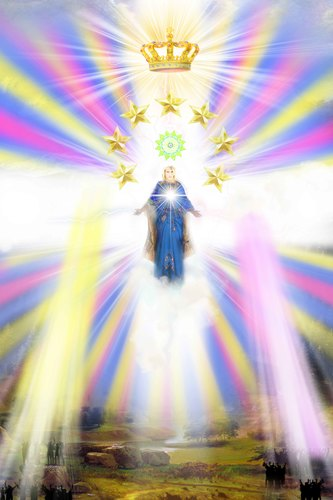 The Lord of Wisdom Light, Fine Art Illustration | Spiritual Arts Institute