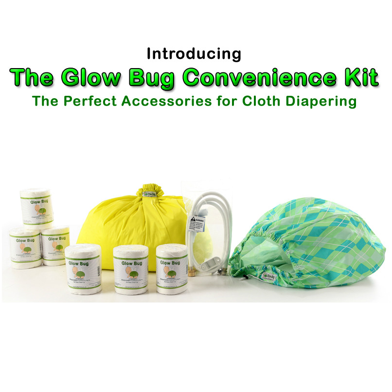 Glow Bug Convenience Kit - The Perfect Accessories for Cloth Diapering