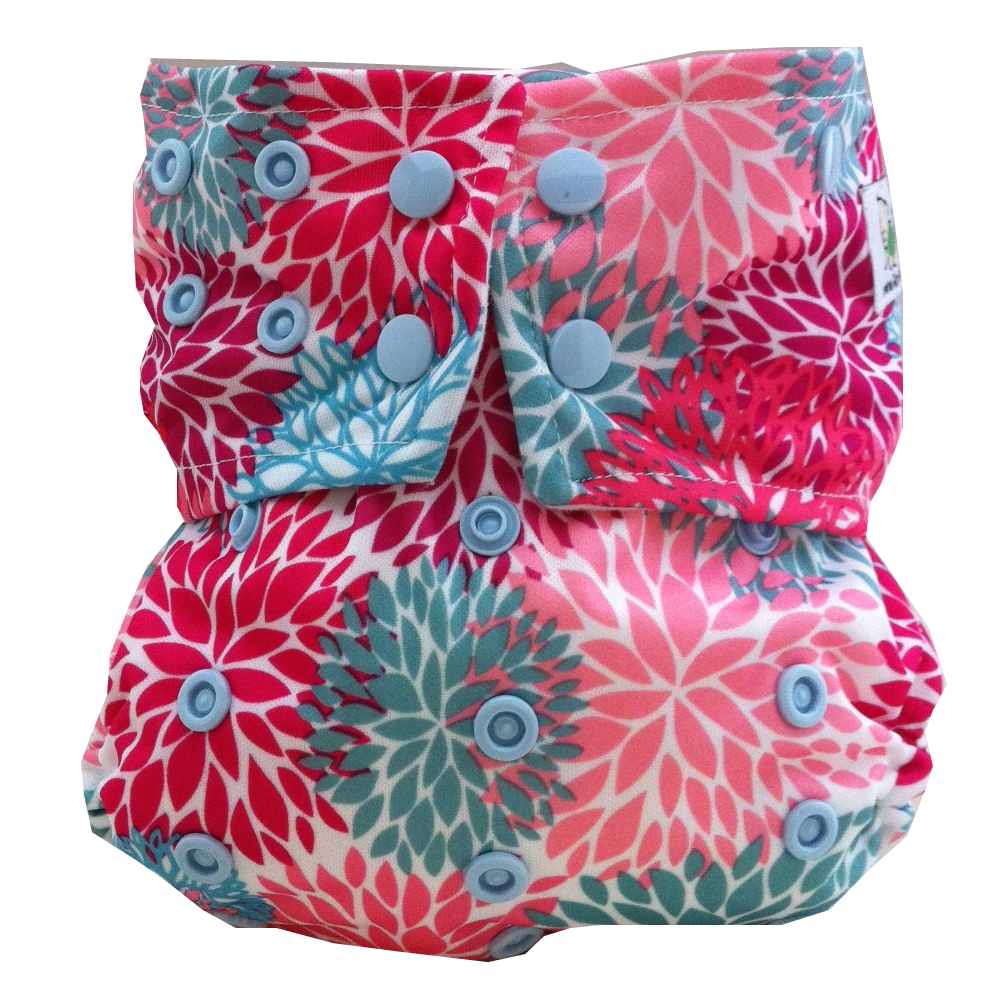 Glow Bug Review, Giveaway, LiveLaughLoveLilly.com, Dahlia Print cloth diapers