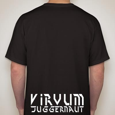 "Deeds of Flesh - ""Virvum Juggernaut"" t-shirt."